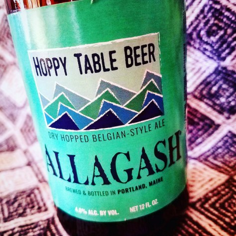 Обзор пива. Allagash Hoppy Table Beer.