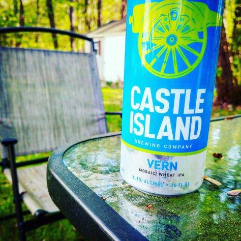 Обзор пива. Castle Island Vern.