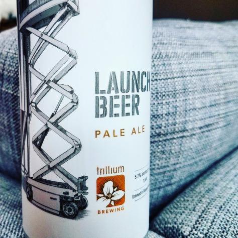 Обзор пива. Trillium Launch Beer.