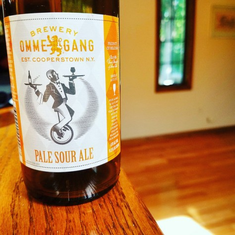 Обзор пива. Ommegang Pale Sour Ale.