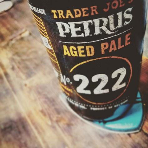 Обзор пива. Bavik Petrus Aged Pale Ale Foeder No. 222.