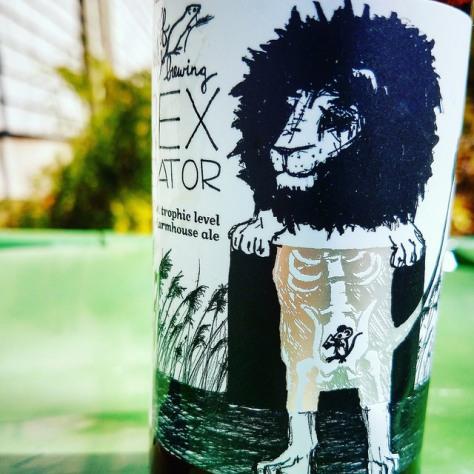 Обзор пива. Off Color Apex Predator.