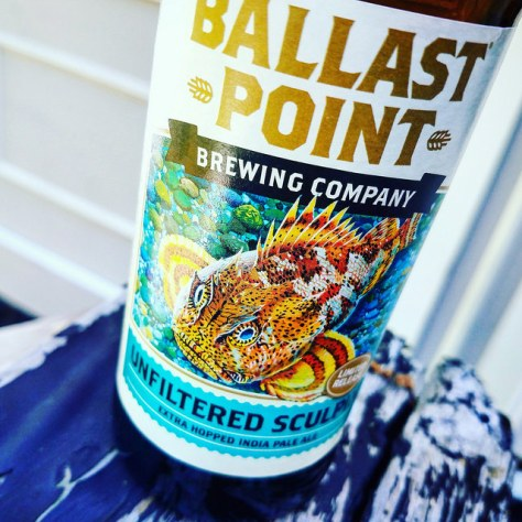 Показатели ABV и IBU. Ballast Point Unfiltered Sculpin. Обзор пива.