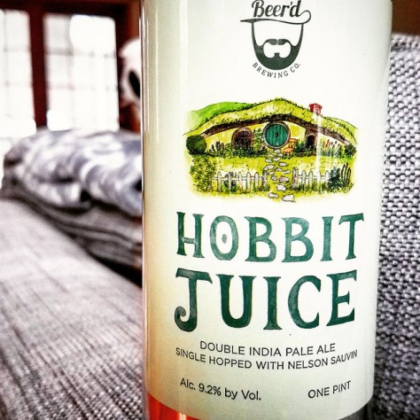 Обзор пива. Beer'd Hobbit Juice.