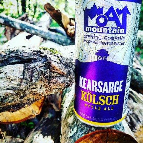 Обзор пива. Moat Mountain Kearsarge Kölsch.