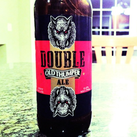 Обзор пива. Shipyard Double Old Thumper Ale.