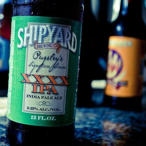Обзор пива. Shipyard XXXX IPA.