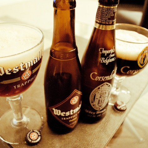 Westmalle Trappist Dubbel vs Corsendonk Pater.