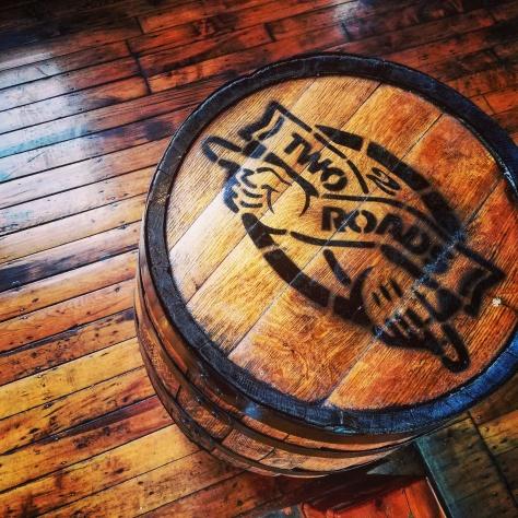 Крафтовая пивоварня. Two Roads Brewery.