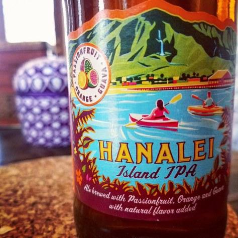 Обзор пива. Kona Hanalei Island IPA.