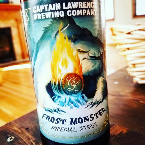 Обзор пива. Captain Lawrence Frost Monster Imperial Stout.