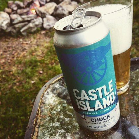 Кремовый эль. Castle Island Chuck. Обзор пива.