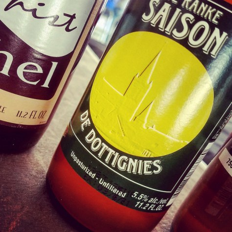 Обзор пива. De Ranke Saison De Dottignies.