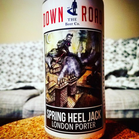 Обзор пива. Down the Road Spring Heel Jack.