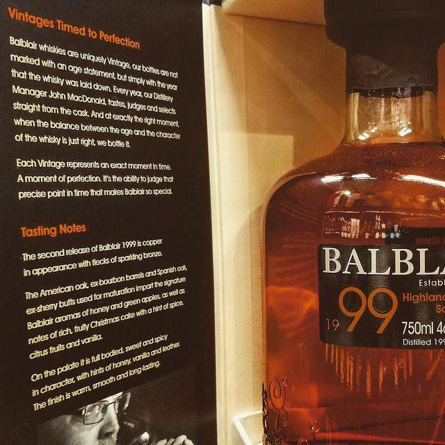 Обзор виски. Balblair 1999 2nd Release.