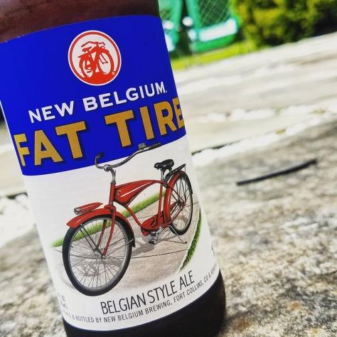 Обзор пива. New Belgium Fat Tire Belgian Style Ale.