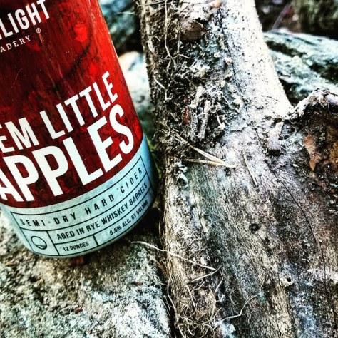 Обзор крепкого сидра. Moonlight Meadery How Do You Like Them Little Apples.