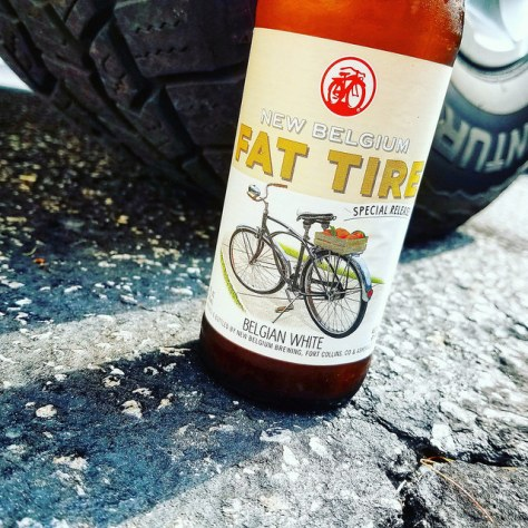 Обзор пива. New Belgium Fat Tire Belgian White.