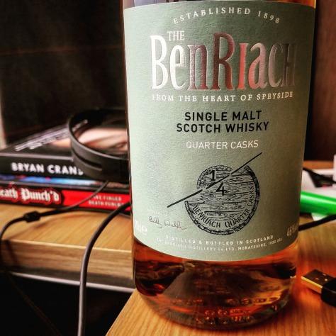 Обзор виски. Benriach Quarter Casks. Отзывы о виски.