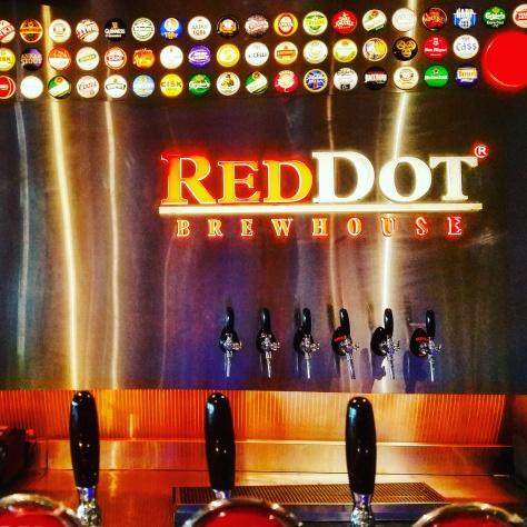Крафтовая пивоварня. Red Dot Brewhouse.