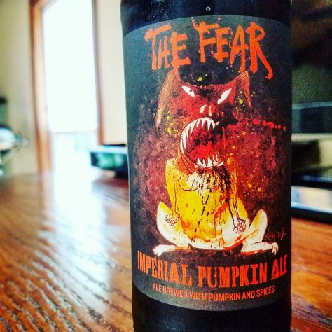 Обзор пива. Flying Dog The Fear Imperial Pumpkin Ale.