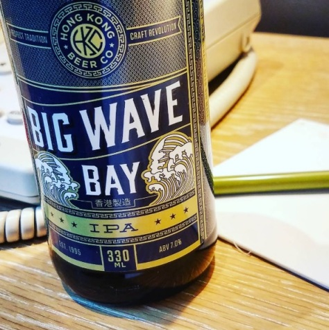 Обзор пива. Hong Kong S.A.R. Big Wave Bay IPA.