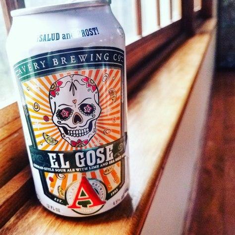 Обзор пива. Avery El Gose.