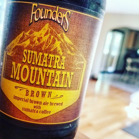 Обзор пива. Founders Sumatra Mountain Brown.
