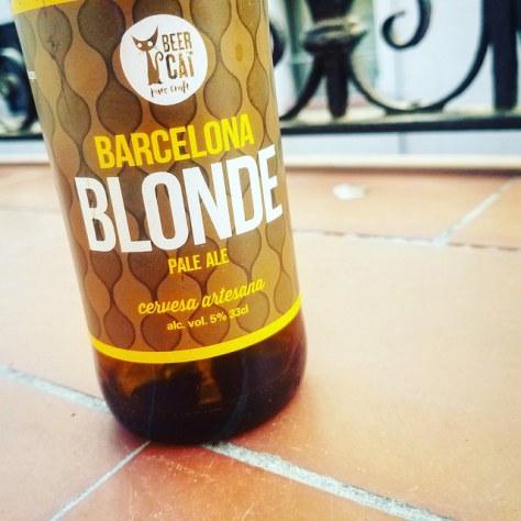 Обзор пива. Beercatalunya BeerCat Barcelona Blonde.
