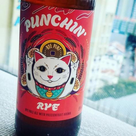 Rye and Pint Punchin' Rye. [Обзор пива].