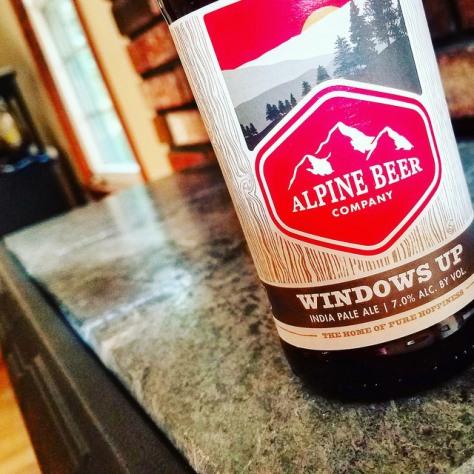 Обзор пива. Alpine Beer Windows Up.
