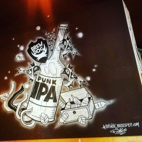Крафтовая пивоварня. Brewdog Barcelona Brewery. Размышления о пиве. Эффект IPA.