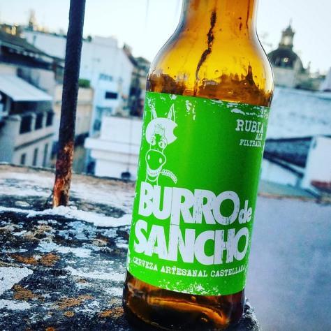 Обзор пива. La Sagra Burro De Sancho Rubia.