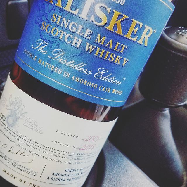 Обзор виски. Talisker Distillers Edition.