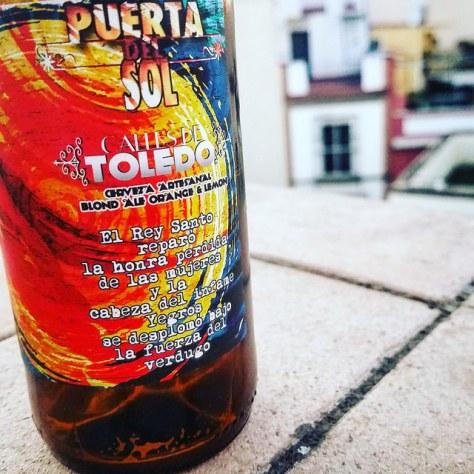 Обзор пива. Calles De Toledo Puerta del Sol.