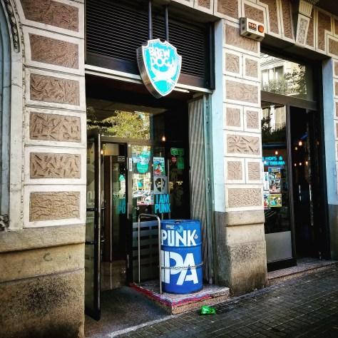 Крафтовая пивоварня. Brewdog Barcelona Brewery.