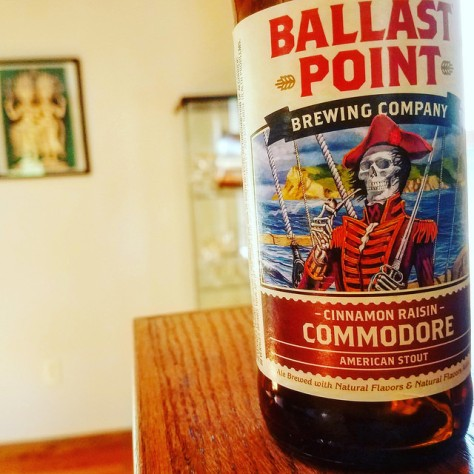 Обзор пива. Ballast Point Commodore.