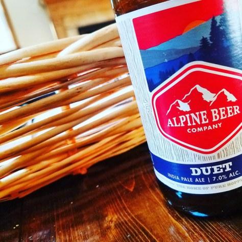 Обзор пива. Alpine Beer Duet.