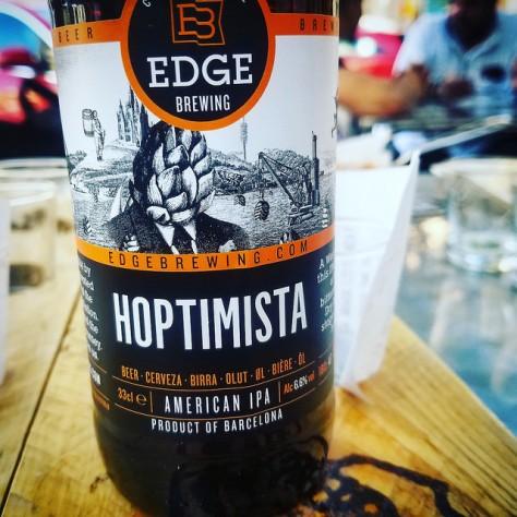 Обзор пива. Edge Hoptimista IPA.