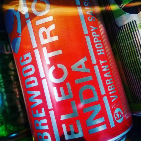 Обзор пива. BrewDog Electric India.