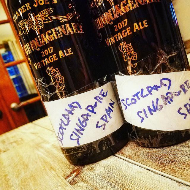 Временная капсула. Unibroue (Trader Joe's) Vintage Ale.