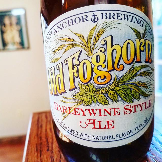 Обзор пива. Anchor Old Foghorn.