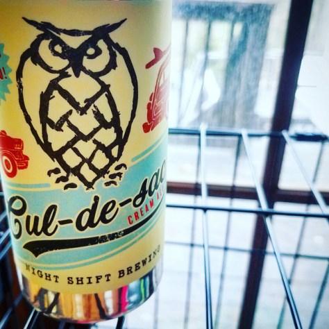 Обзор пива. Night Shift Cul-de-Sac.