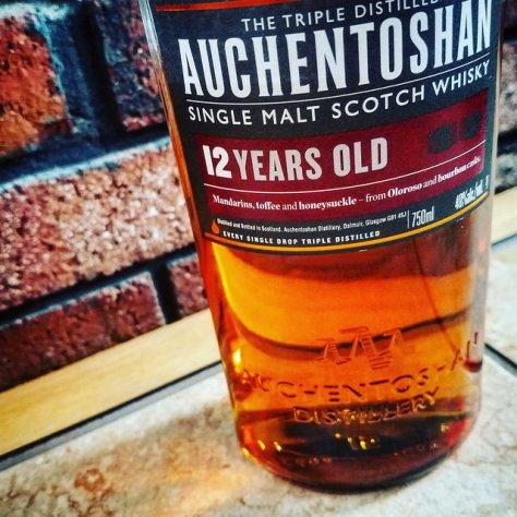 Как правильно произносить названия брендов шотландского виски? [Whisky brand names]. Auchentoshan 12.