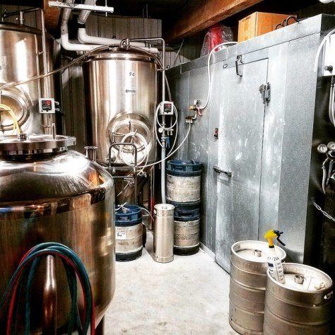 Крафтовая пивоварня. Long Blue Cat Brewery.