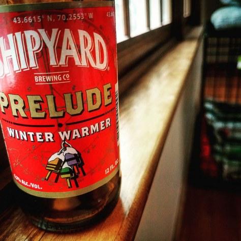 Обзор пива. Shipyard Prelude Special Ale.