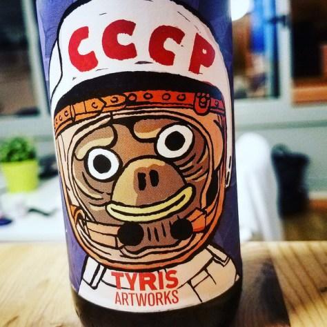 Обзор пива. Tyris CCCP.
