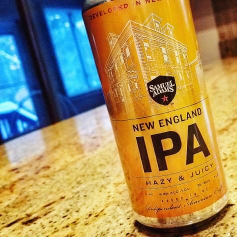 Обзор пива. Samuel Adams New England IPA.