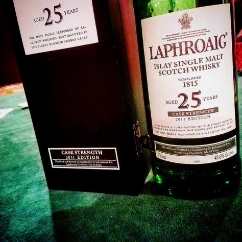Обзор виски. Laphroaig 25.