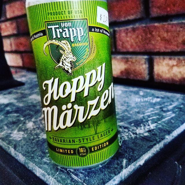 Обзор пива. Von Trapp Hoppy Märzen.